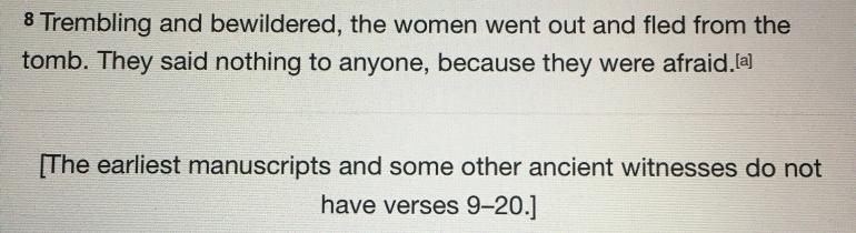 Mark 16:8